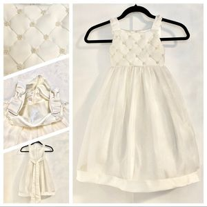 Girl's 4T Cinderella Couture Ivory Dress